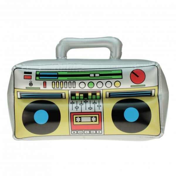 Aufblasbarer Ghettoblaster 42 cm x 28 cm Radio Tape Party