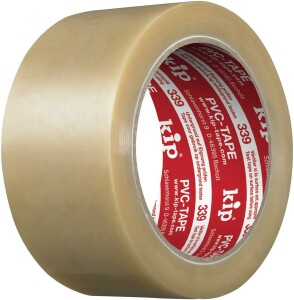 339 Kip PVC-Packband, 50mm Breit, Transparent, 66M