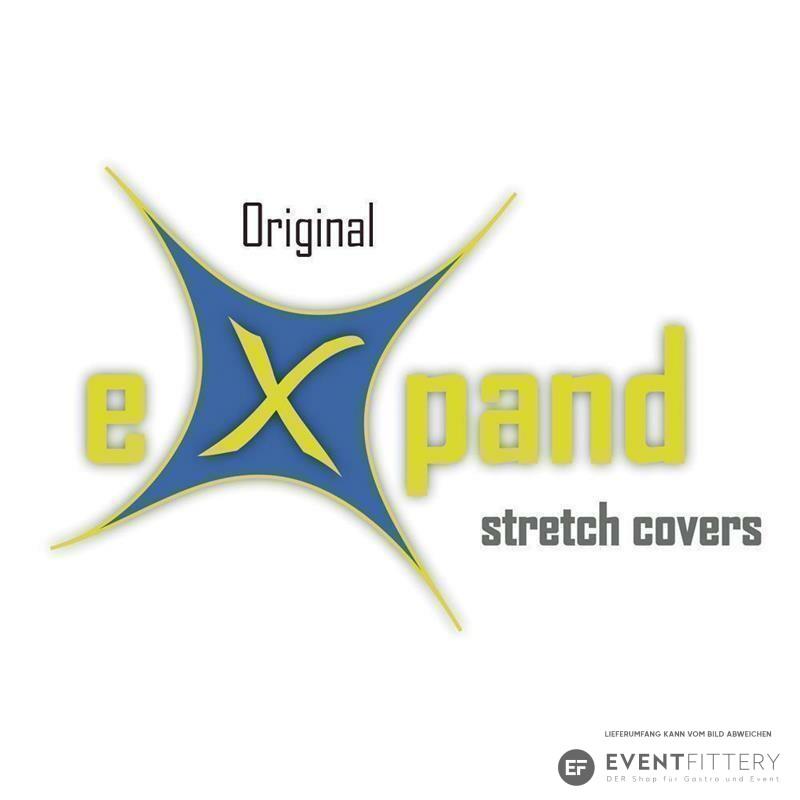 original eXpand® Stehtischhusse Stretch 80-86cm gold metallic Stehtisch Husse